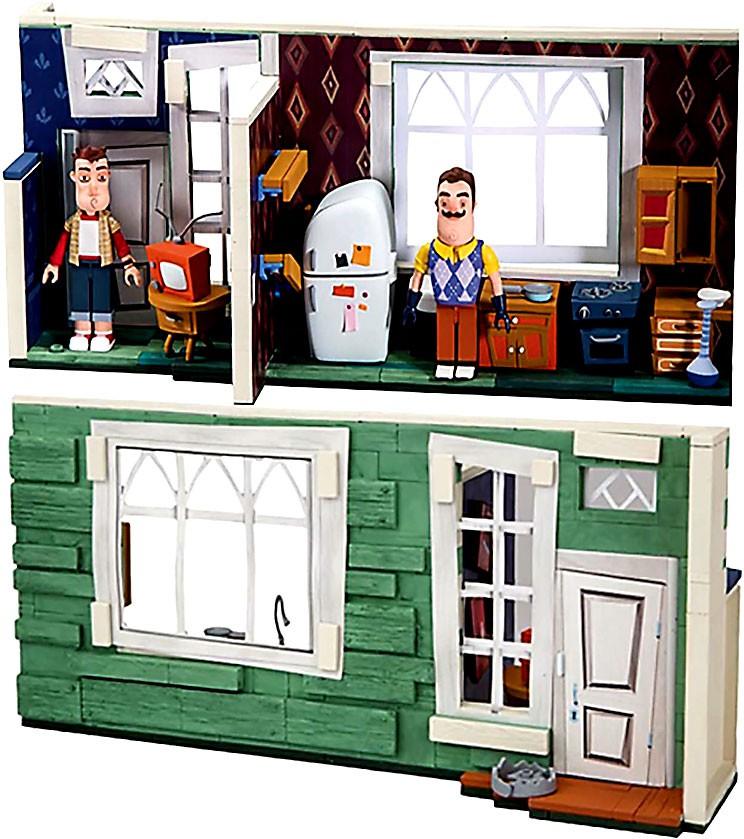 McFarlane Toys Hello Neighbor Neighbor's Neighbor's Neighbor's House Construction Set aed5d4