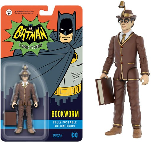 Bookworm Batman Classic TV Series Action Figures Series 4