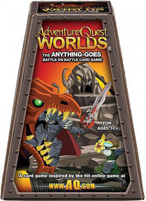 Adventure Quest Worlds The Anything Goes Battle on Battle Card Game 852854003009  eBay