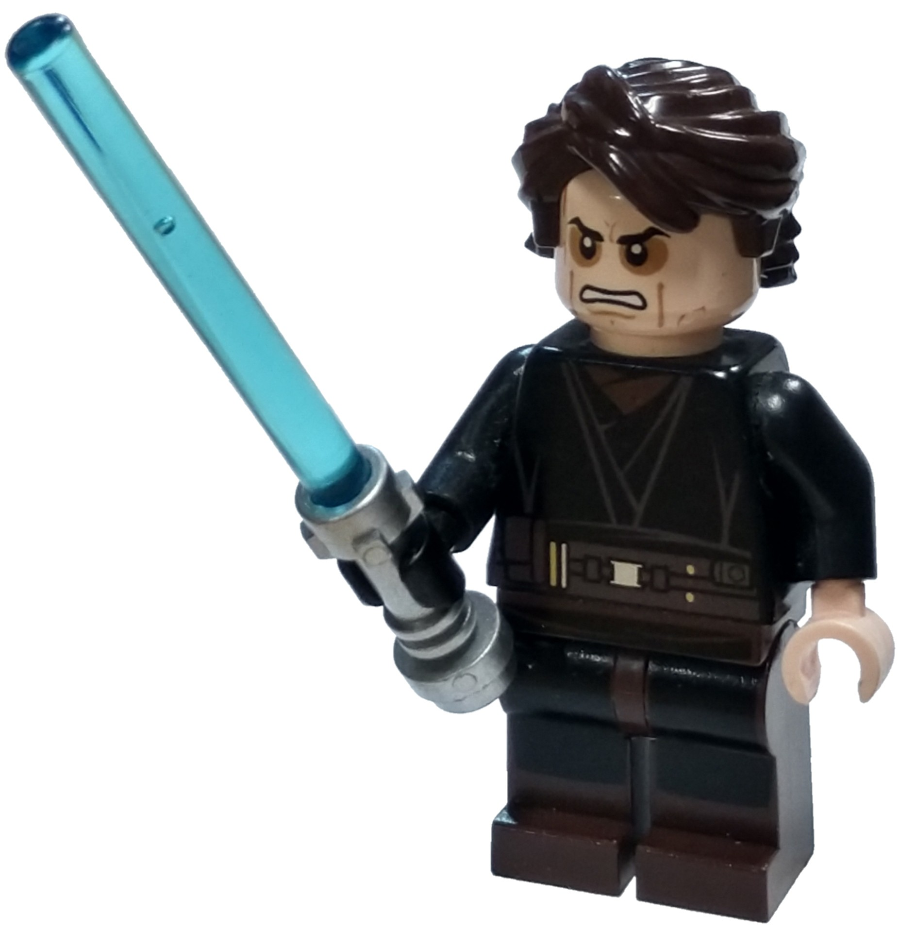 Lego Star Wars Episode 3 Anakin Skywalker Minifigure Sith Face Loose Ebay