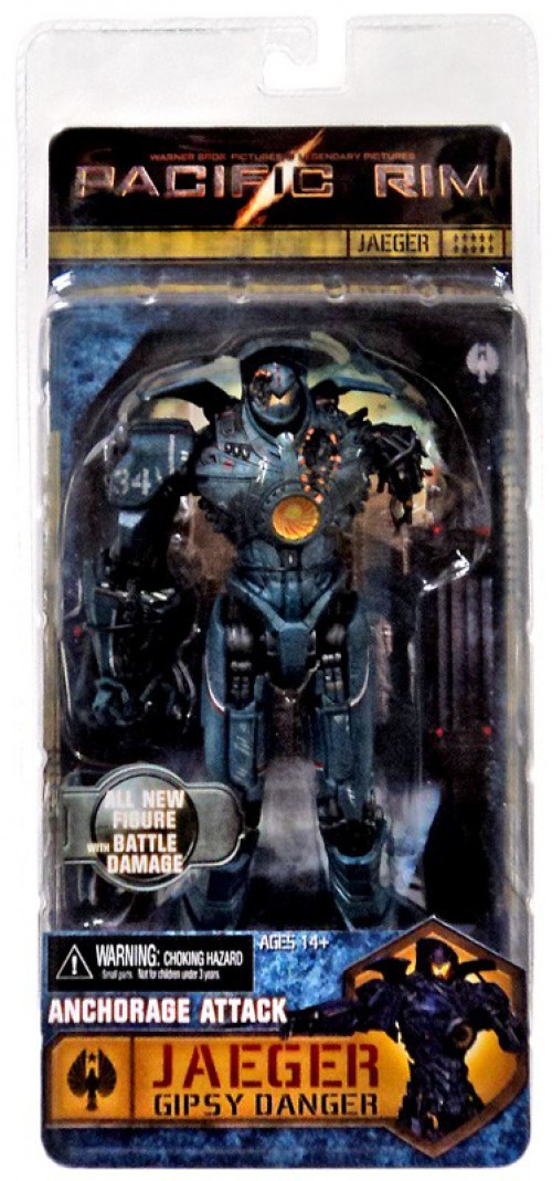NECA Pacific Rim Series 5 Anchorage Attack Gipsy Danger Action Figure