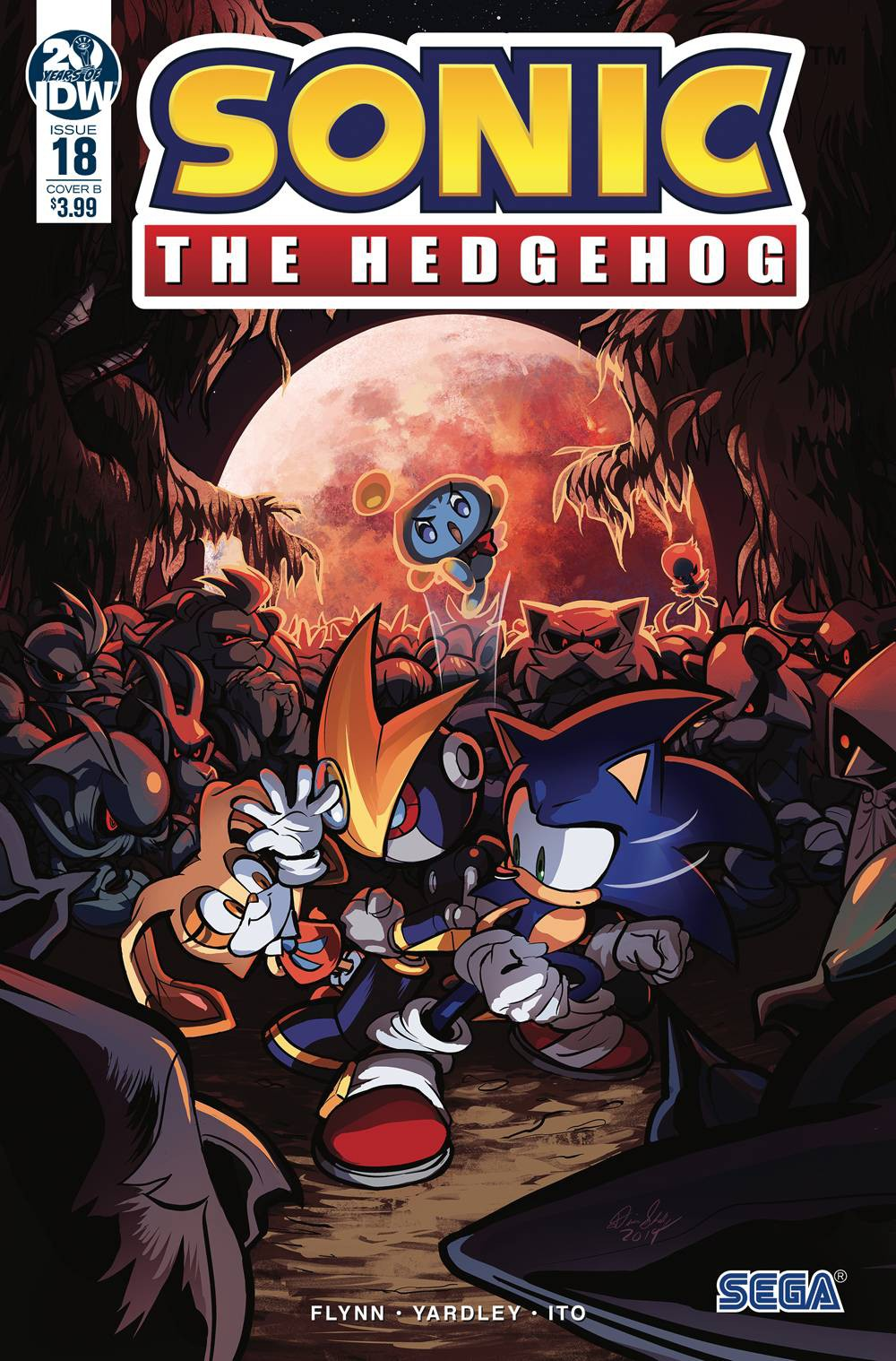 Idw Sonic The Hedgehog 18 Comic Book Diana Skelly Variant Cover Ebay