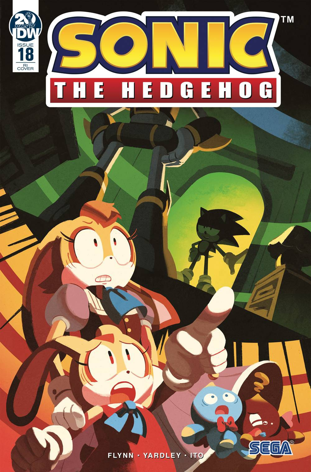 Idw Sonic The Hedgehog 18 Comic Book Nathalie Fourdraine Variant Cover Ebay