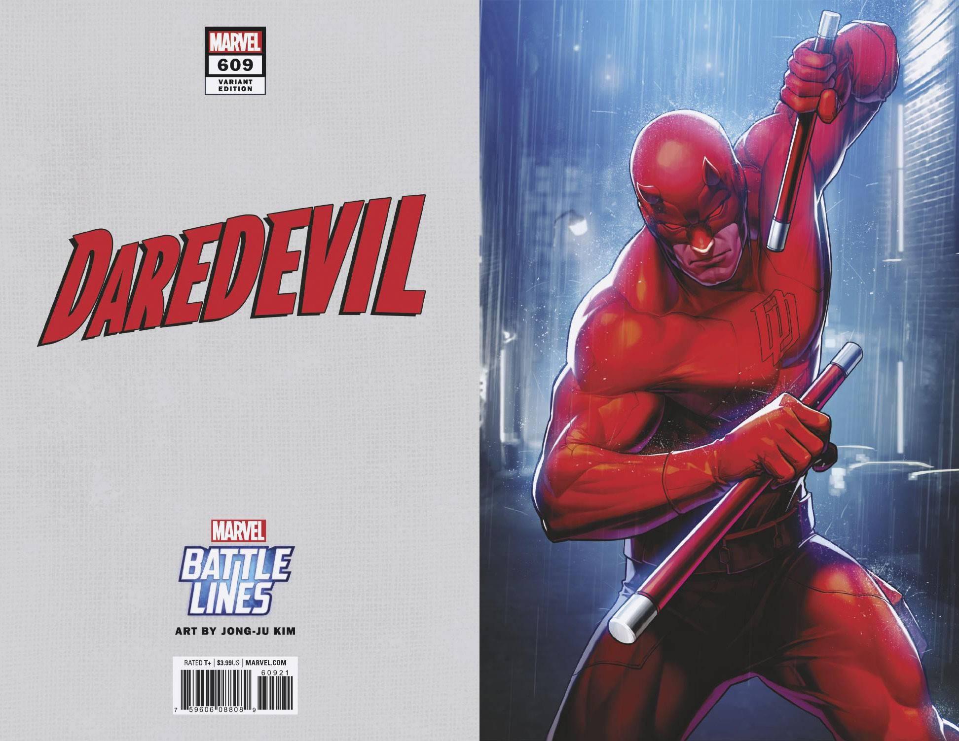 Marvel Daredevil #609 Comic Book