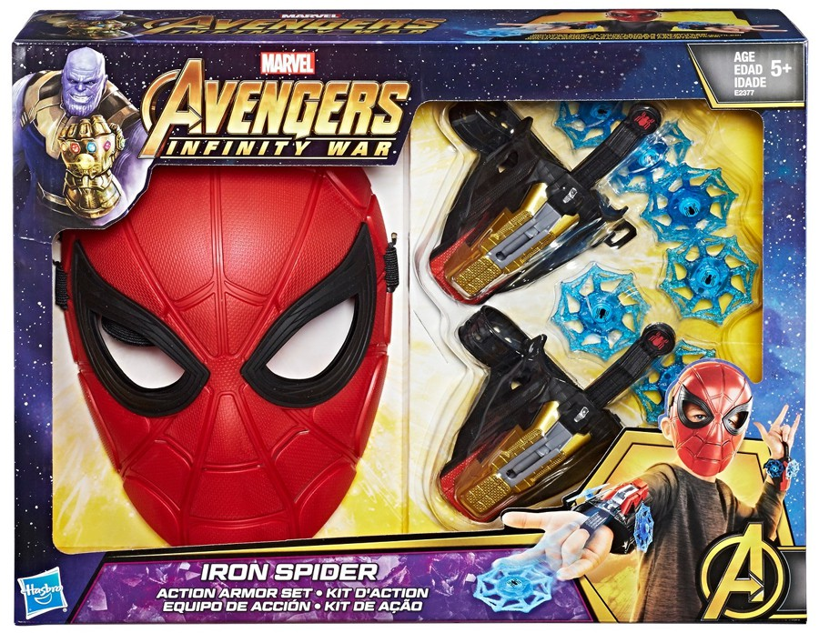 Marvel Avengers  Infinity War Iron Spider Action Armor Set Exclusive
