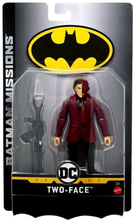 Batman Missions Two Face Action Figure DC Comics mattel 2019
