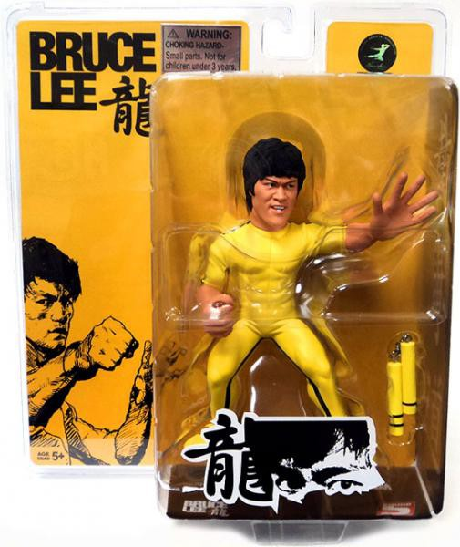Bruce Lee Figure New in BOX by Fanatiks