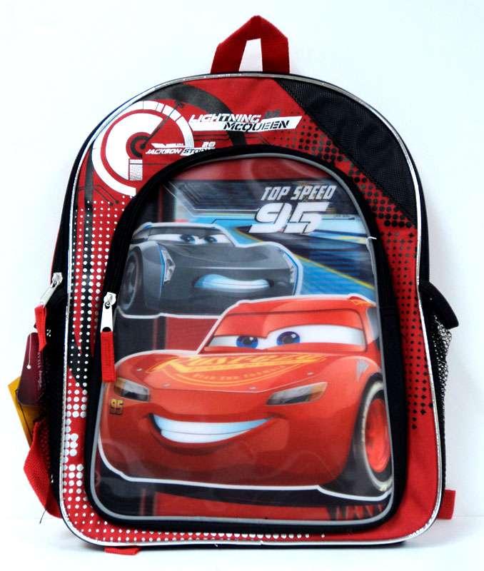 a38db40d865 Disney Cars Cars 3 Lightning McQueen   Jackson Storm Backpack  Reflective