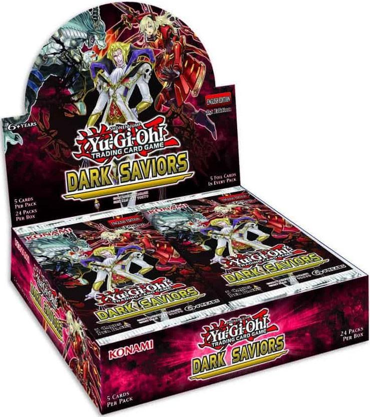 "Yugioh Cards /""Deck Build Pack Dark Savers Saviors/"" Booster Box Korean Official"