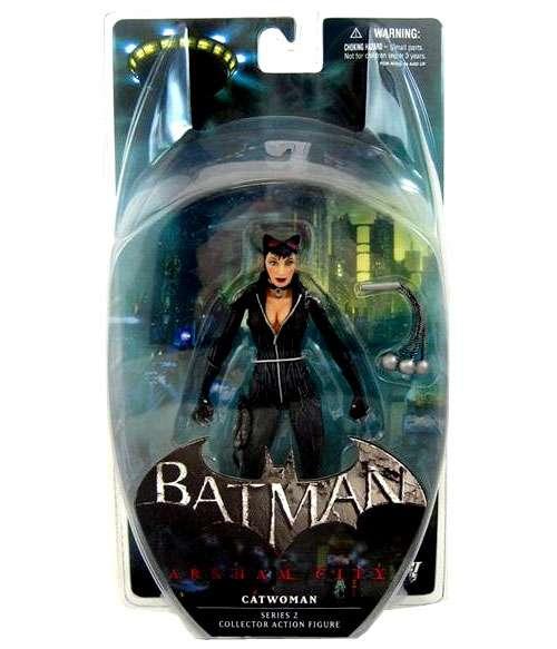 DC Direct 2012 Batman Arkham City Series 2 CATWOMAN 7 inch Figure New in Box