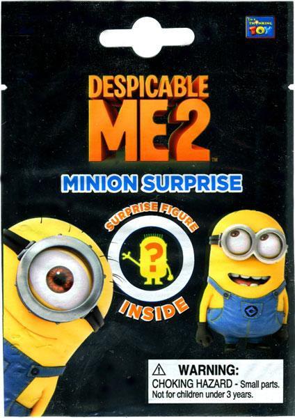 DESPICABLE ME MINIONS SURPRISE MINI FIGURES LOT OF 4