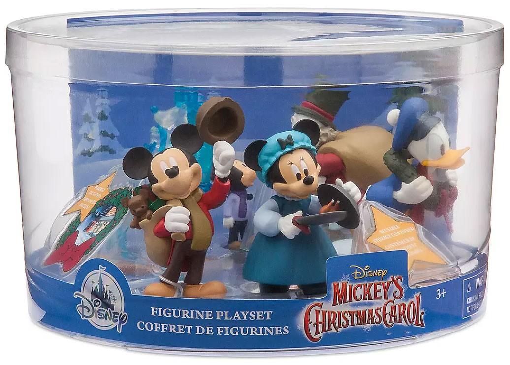 Disney 2019 Mickey's Christmas Carol 6-Piece PVC Figure Play Set 461073522750   eBay