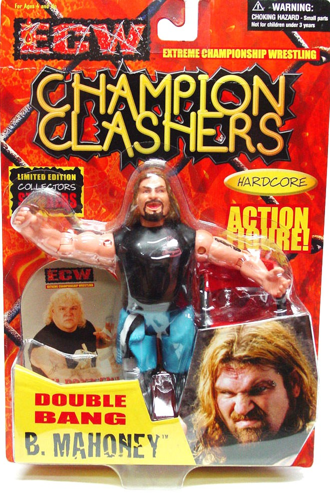 Ecw Wrestling Champion Clashers Double Bang Balls Mahoney Action