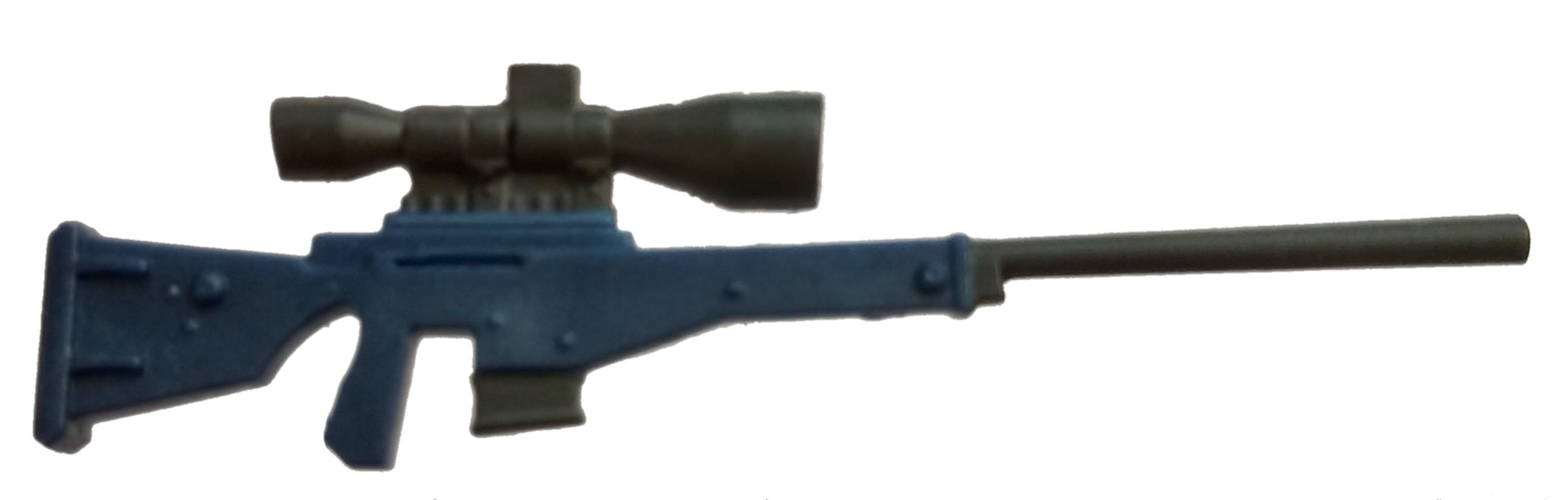 Fortnite Bolt Action Sniper Rifle 2 Inch Rare Figure Accessory Blue Loose Ebay