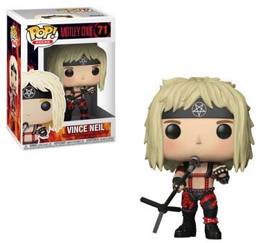 Tommy Lee FUNKO POP POP Rocce-Mötley Crüe Figura in vinile #73