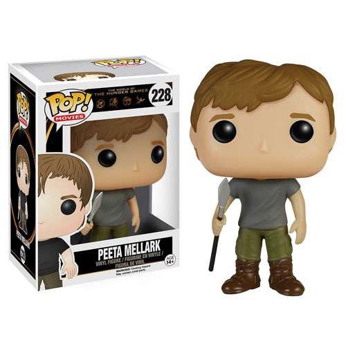 The Hunger Games Funko Pop Movies Peeta Mellark #228 avec protecteur