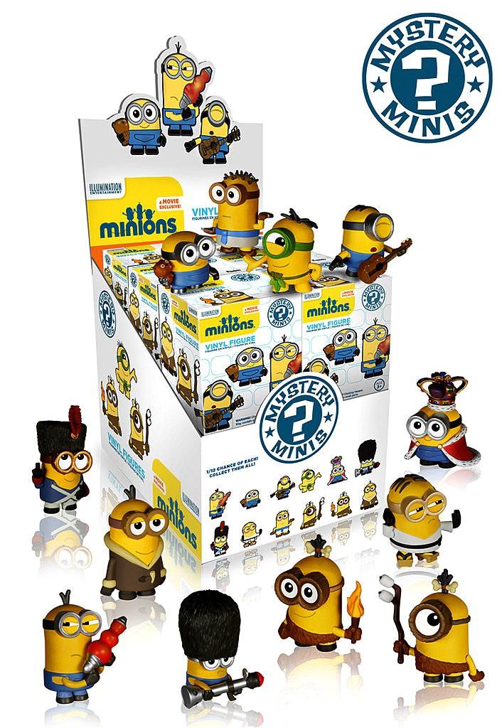 Funko Minions Movie Mystery Mini 12-Pack Vinyl Figure Boxes Collectible