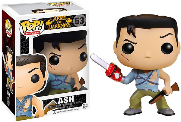 Funko Pop Movies 53 Army of Darkness 3407 Ash