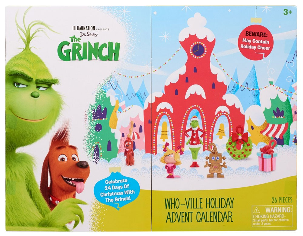 Dr Seuss The Grinch 2018 Who Ville Holiday Exclusive Advent Calendar Ebay