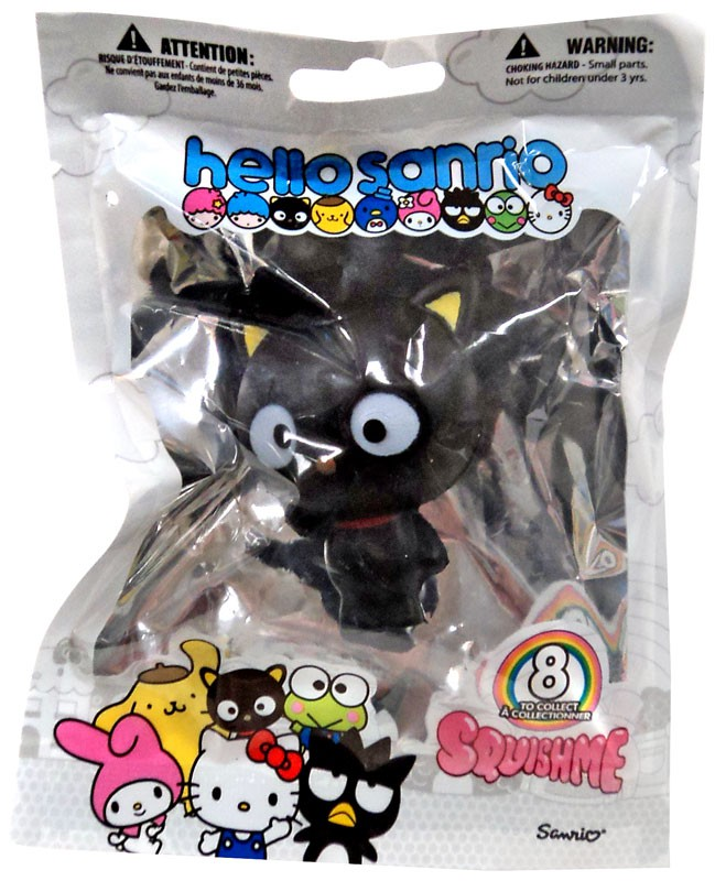 Hello SANRIO Character Squishme Slow Rise Squeeze Toy Squishie Chococat Sealed