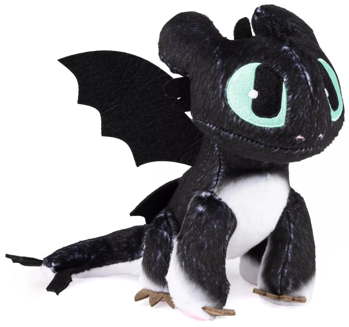 How to Train Your Dragon The Hidden World Nightlight 6.5-Inch Plush Blue Eyes