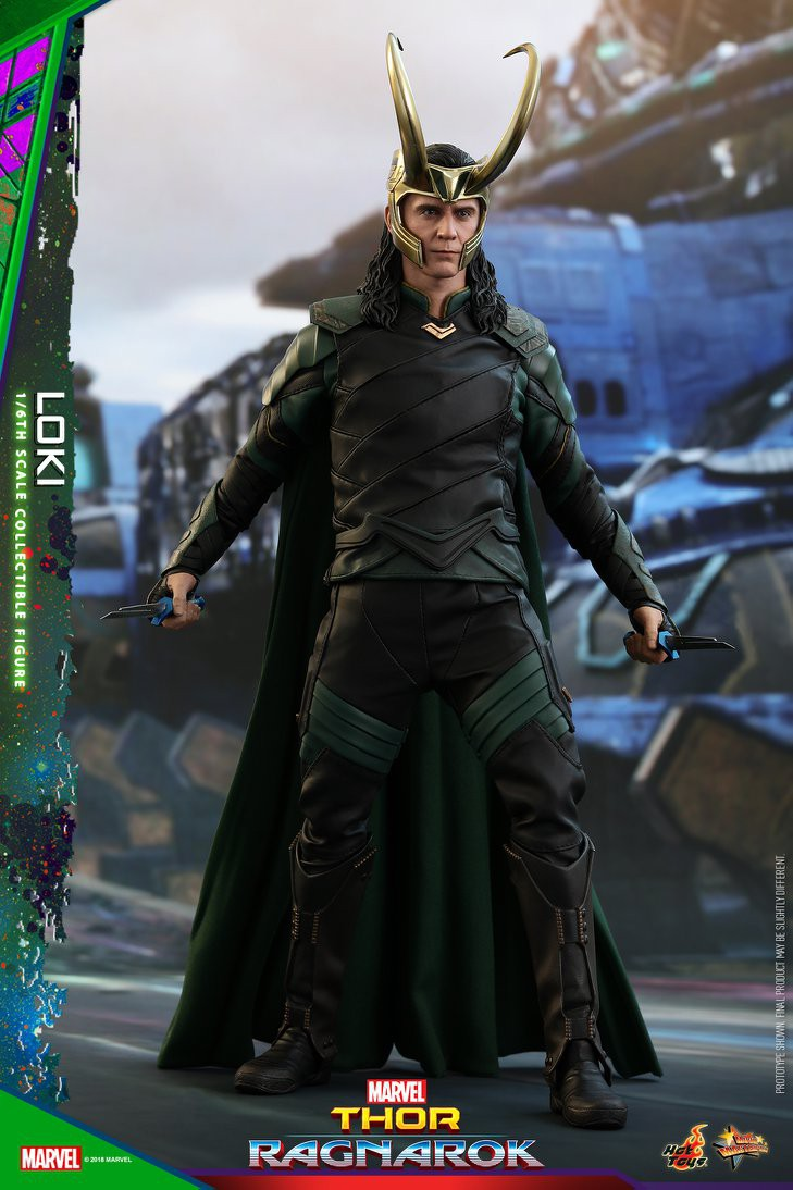 Marvel Thor Ragnarok Movie Masterpiece Loki Collectible Figure MMS472