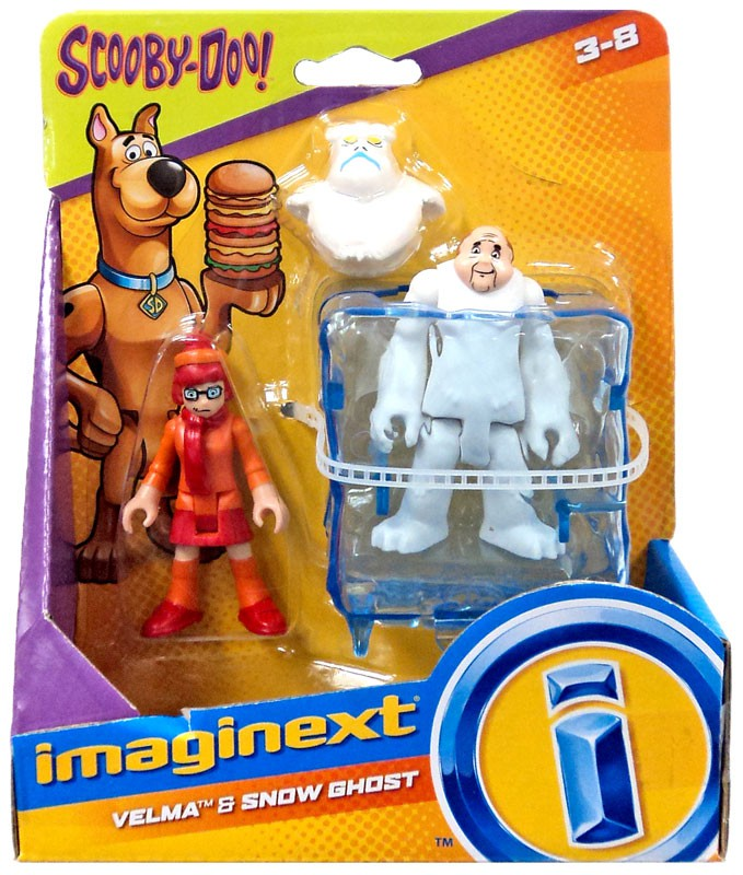 Fisher Price Scooby Doo Imaginext Velma & Snow Ghost 3