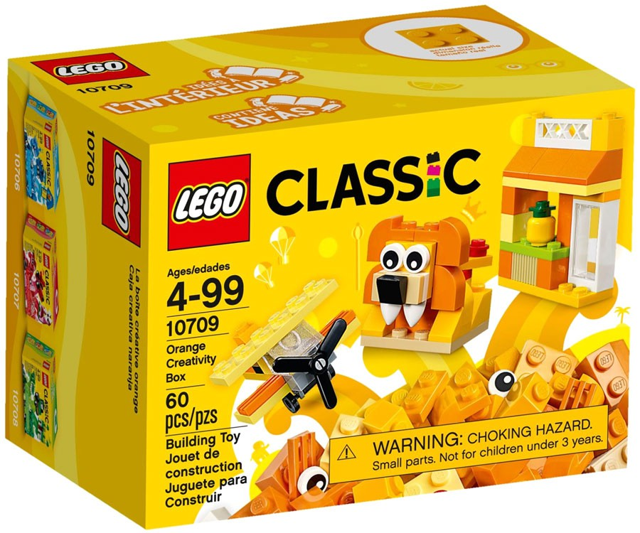 LEGO Classic #10709 Orange Creativity Box Factory for sale online