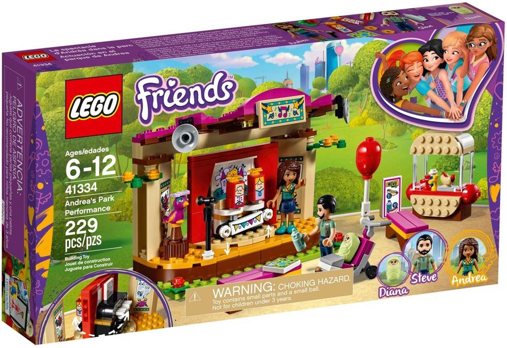 LEGO Friends # 41334  Andrea/'s Park Performance NIB