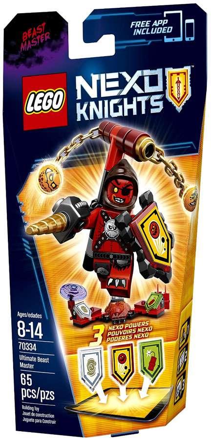 Lego NEXO KNIGHTS 70334 Ultimate Beast Master MISB