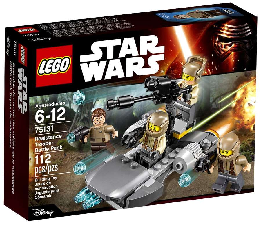 LEGO Star Wars The Force Awakens Resistance Trooper Officer  from 75131*NEW*