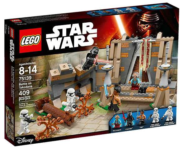 Disney Rey/'s Speeder Playset by LEGO Star Wars The Force Awakens NIB