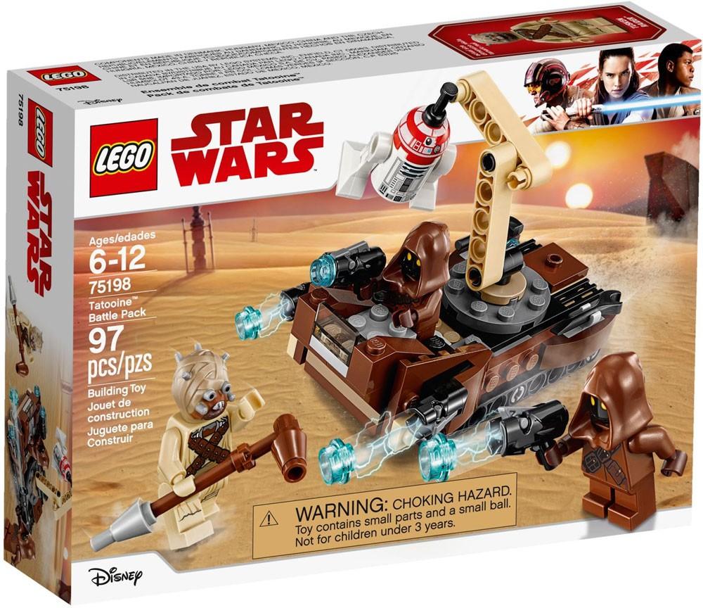 75198 Tatooine Pack 5x LEGO NEW Star Wars Tusken Raider Staff