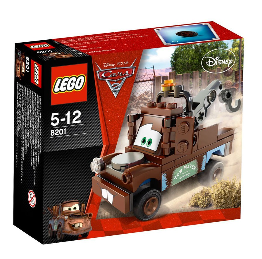 Details About Lego Disney Cars Cars 2 Radiator Springs Classic Mater Set 8201
