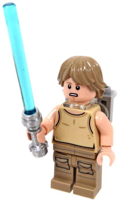 Lego Star Wars Minifigures Luke Skywalker