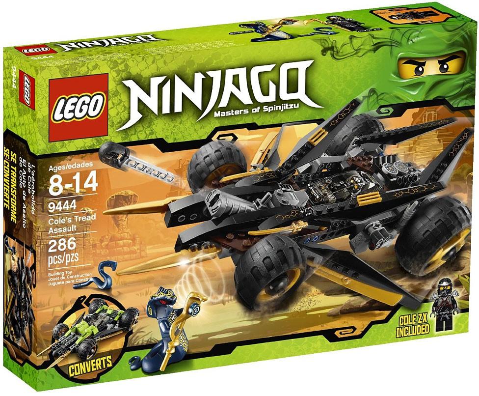 Details Tread Set9444 Ninjago Lego Cole's About Assault TKcF1J3lu