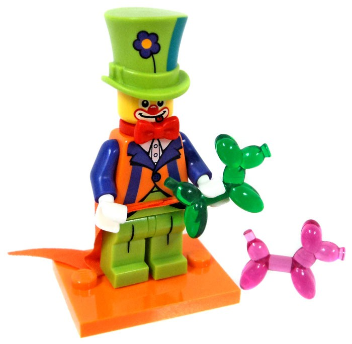71021 LEGO Minifigures Series 18 PARTY CLOWN FACTORY SEALED NEW