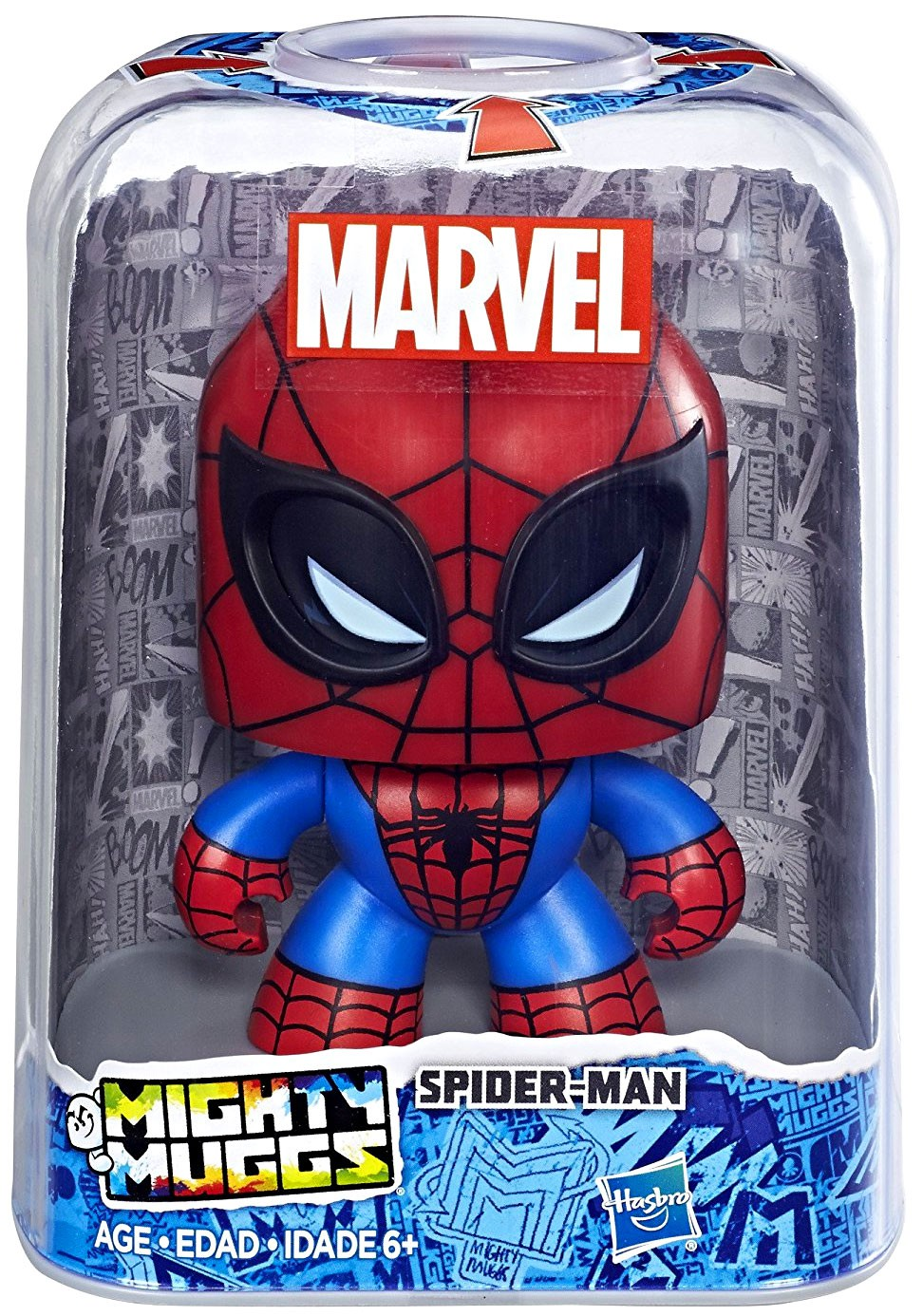 Marvel Mighty Muggs Spider-Man #04 Changing Face Figure