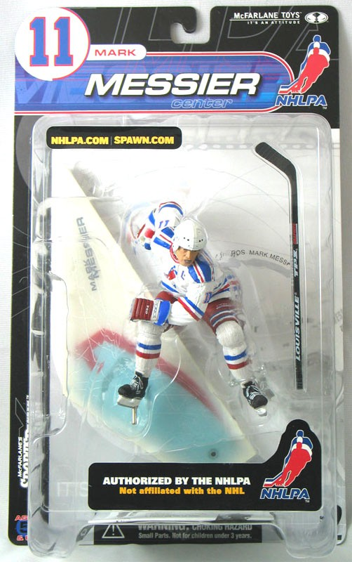 McFarlane Toys NHL Sports Picks Series 2 Mark Messier Action Figure ... e7d5f2a03