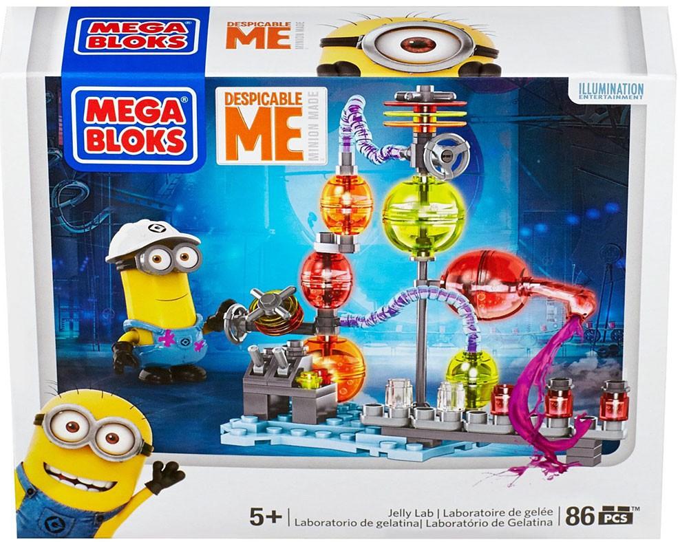 Minion Jelly Lab Mega Bloks Despicable Me 86 Pieces Minions Sealed New