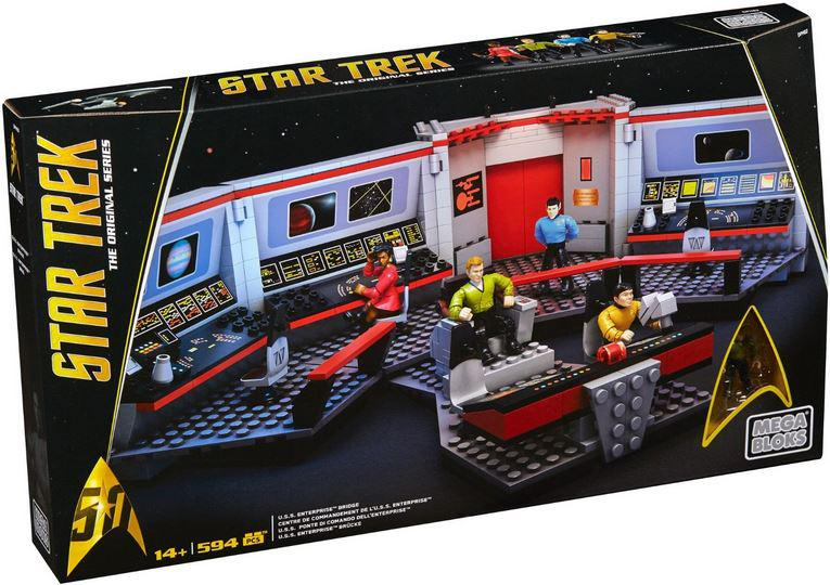 Mega Bloks Star Trek The Original Series U S S Enterprise Bridge