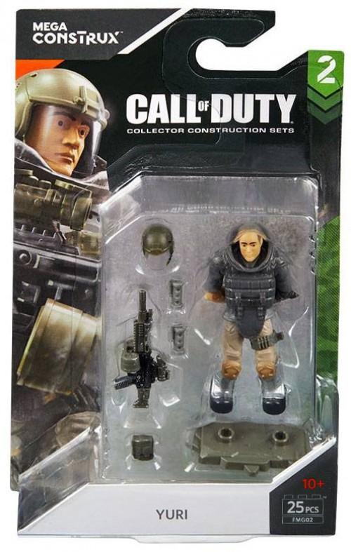 Mega Bloks Call Of Duty Mega Construx Specialists Series 2 Yuri Mini Figure 887961572261 Ebay