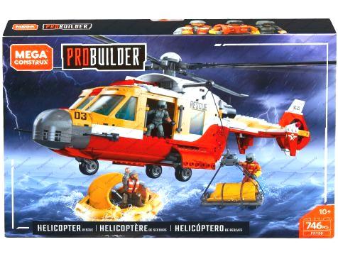 Details about Probuilder Helicopter Rescue Set