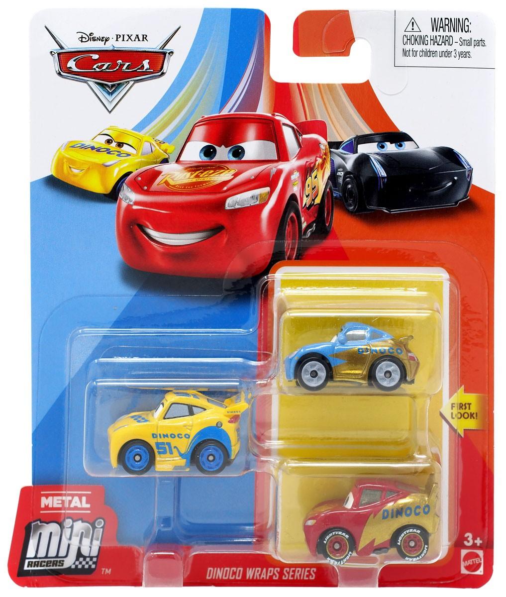 cars 2 Pixar Metal Die-Cast Vehicle 3 Pack 9