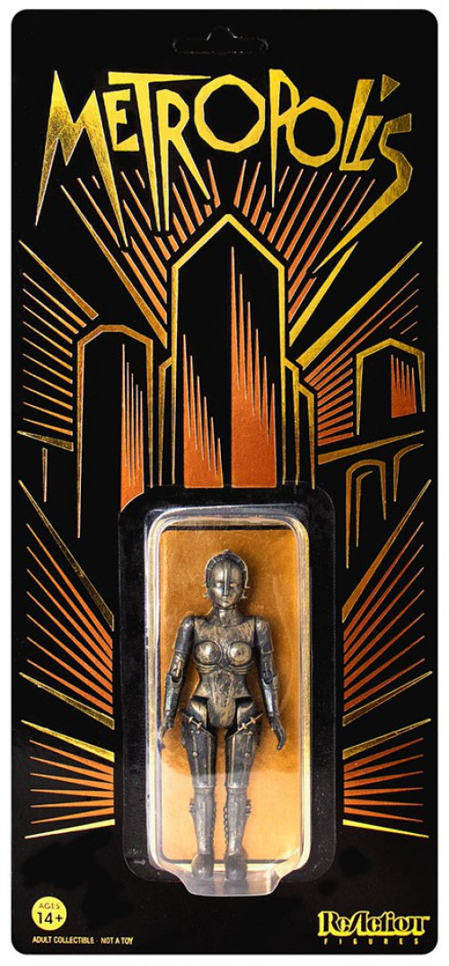 ReAction Metropolis Maria Exclusive Limited Edition Action Figure Copper