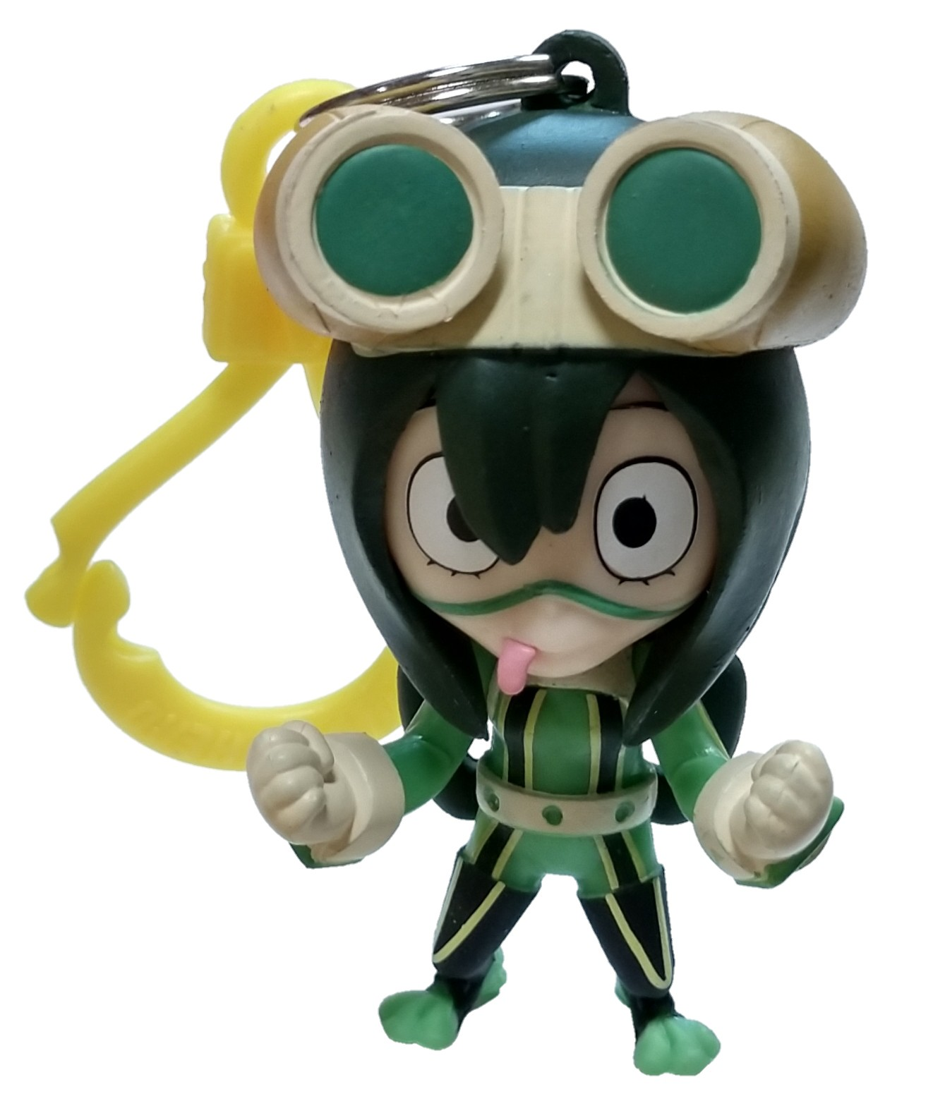 Details About My Hero Academia Backpack Clips Tsuyu Asui Minifigure Loose