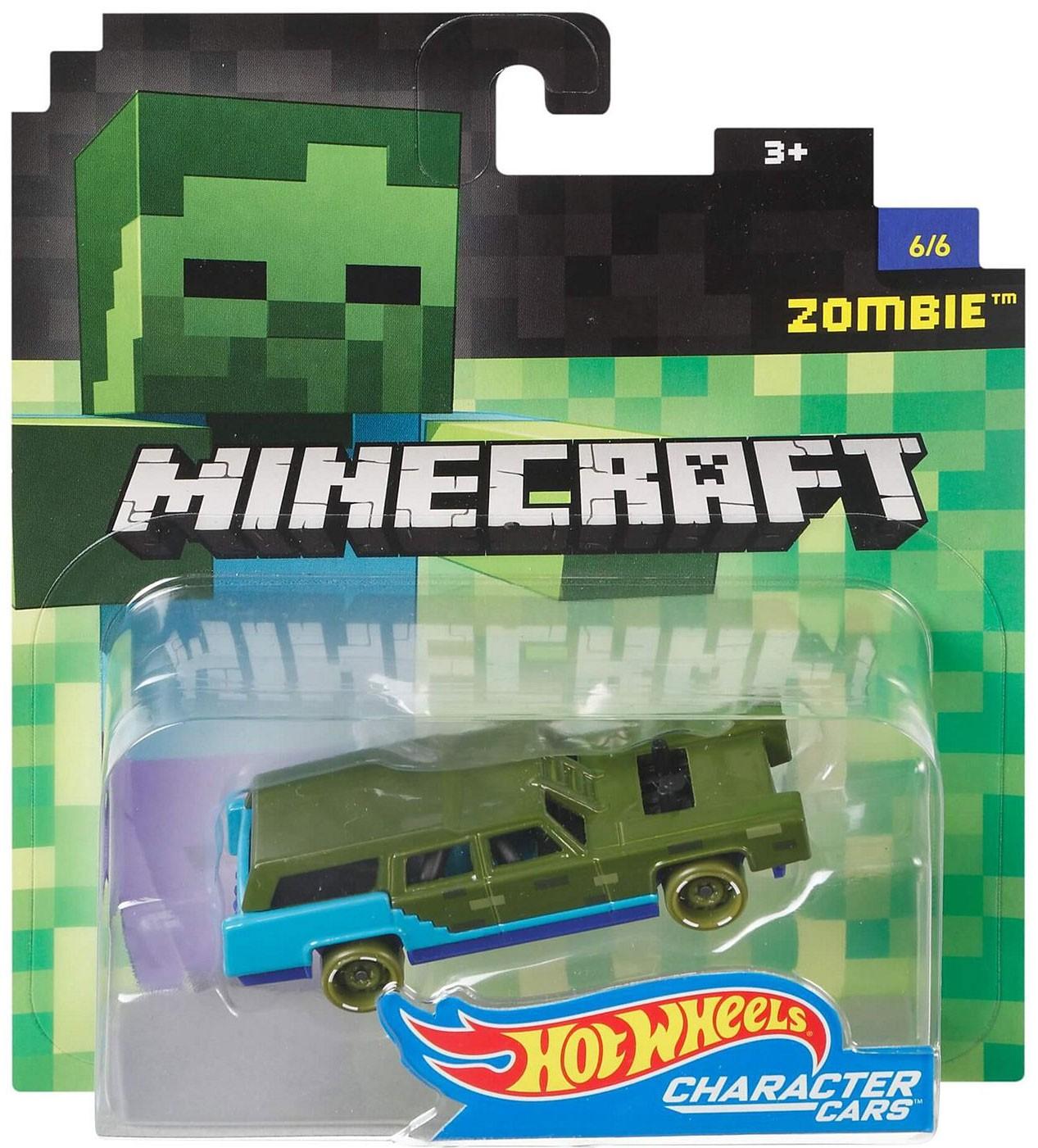 Hot Wheels Minecraft Car