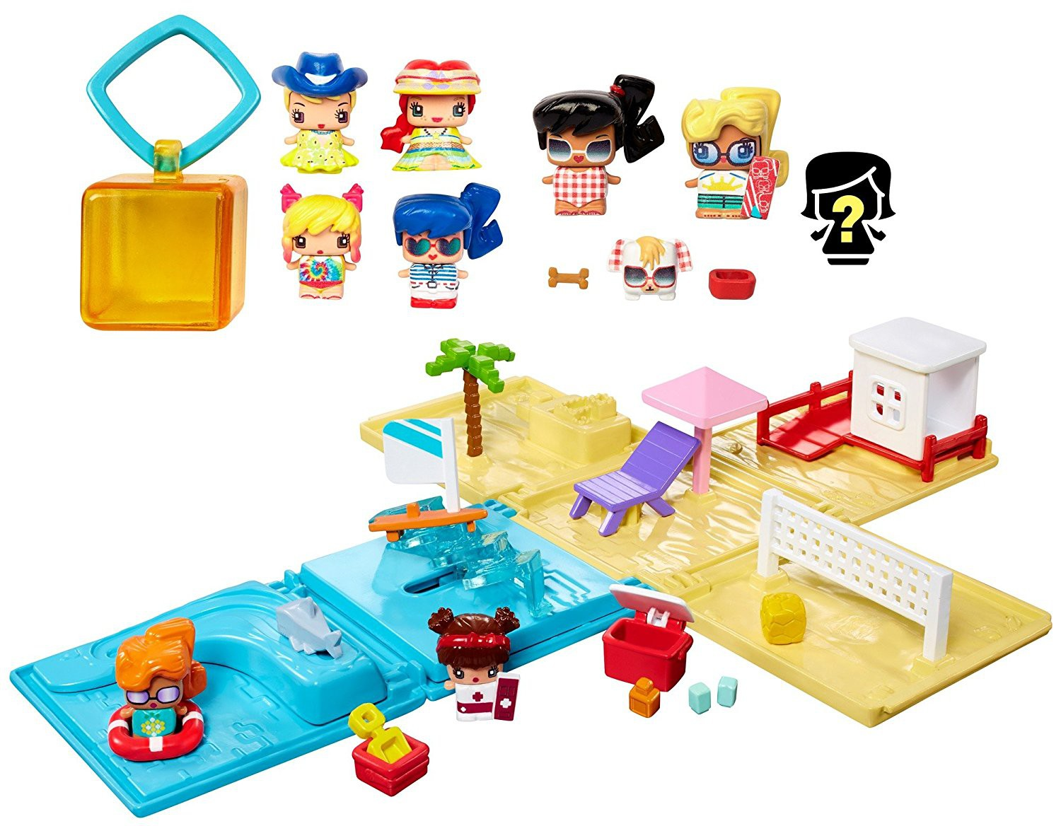 My mini mixieqs beach party collection playset frustration free packaging