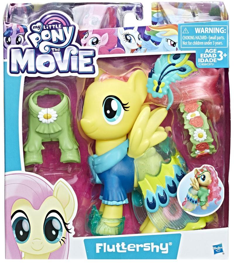 My Little Pony The Movie Fluttershy Snap On Fashion 6-Inch Figure  630509527359 | eBay