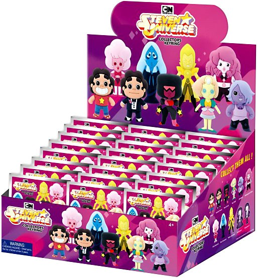 Amethyst or Pink Diamond Cartoon Network Steven Universe Figural Keychains